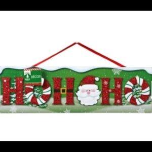 "🎄""Ho Ho Ho"" Christmas home decor sign🎄"